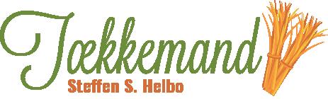 Tækkemand Steffen S. Helbo logo transparent